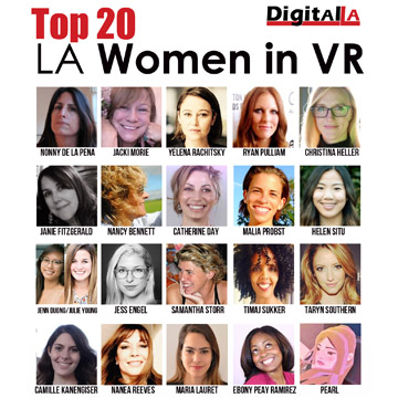 Top 20 Women in VR