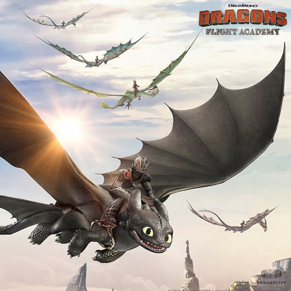 Digital La Dragons Flight Academy Vr Soar With Hiccup Toothless And Your Dragon Rider Friends
